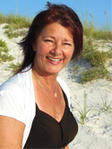 Linda Boucher wedding officiant at Kissing Fish Weddings, Dunedin Florida